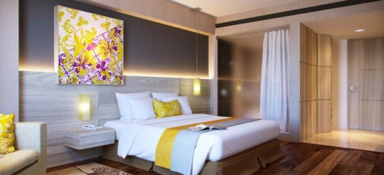 عکس اتاق خواب با دکوراسیون و تم رنگی متفاوت
