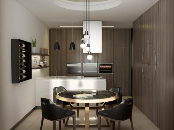 آشپزخانه مدرن و ساده
