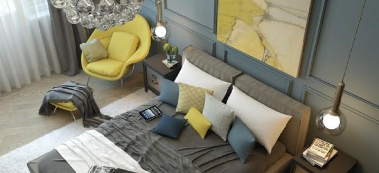 دکوراسیون داخلی اتاق خواب کلاسیک