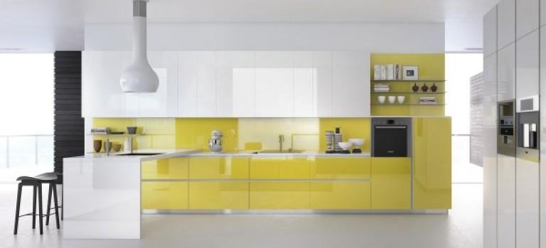 آشپزخانه های مدرن با تم رنگی متفاوت