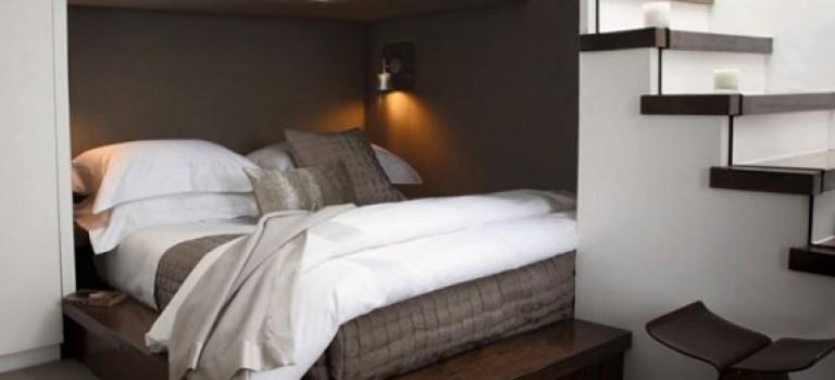 ۳۰ نمونه اتاق خواب با فضای کم