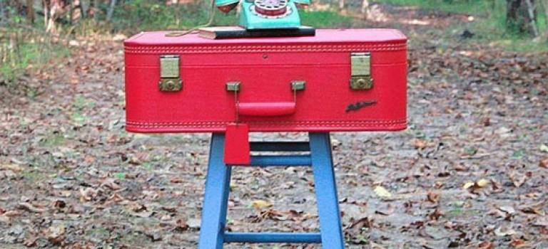 چندین ایده برای استفاده از چمدانهای بلا استفاده