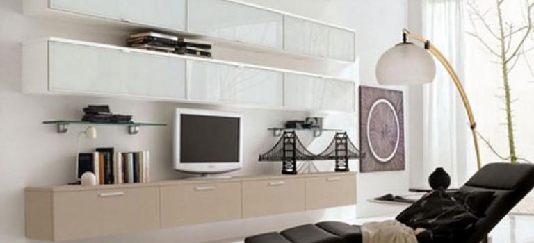 دکوراسیون داخلی منزل : ارائه ۱۰۰ نمونه طراحی میز تلویزیون مدرن