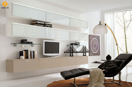 دکوراسیون داخلی منزل : ارائه 100 نمونه طراحی میز تلویزیون مدرن