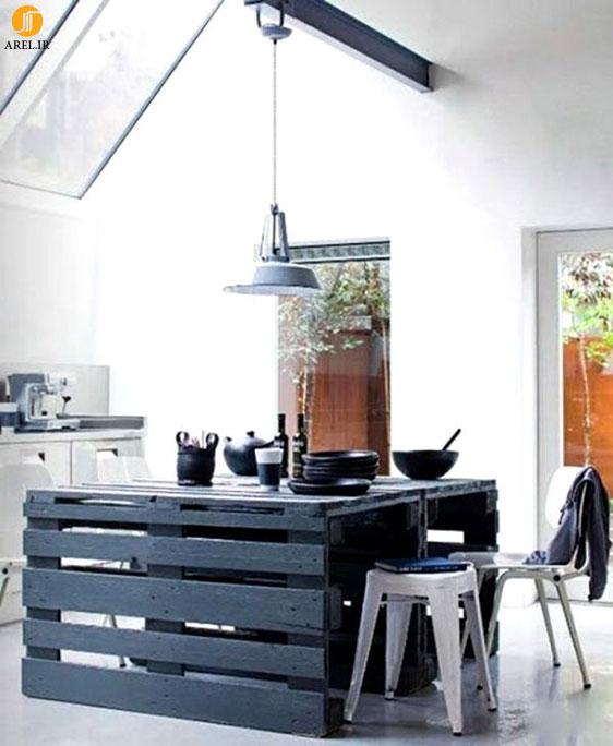 راه های خلاقانه استفاده از تخته چوب به عنوان مبلمان در دکوراسیون داخلی منزل