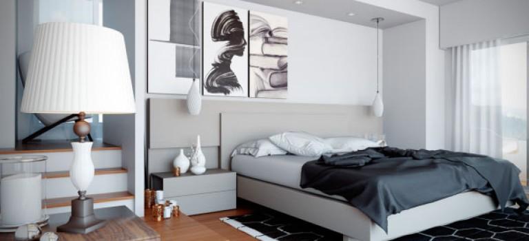 دکوراسیون داخلی اتاق خواب مدرن، تنوع در سرویس خواب
