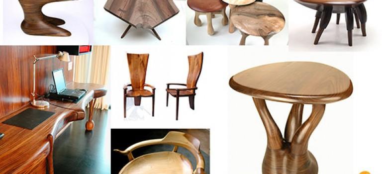 مبلمان چوبی، خلاقیت ۲۰ ساله با چوب