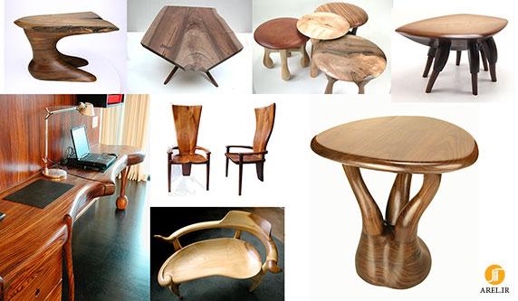 میز و مبلمان چوبی
