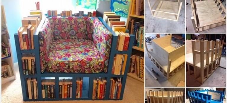 مبل راحتی برای شما که کتاب زیاد می خوانید