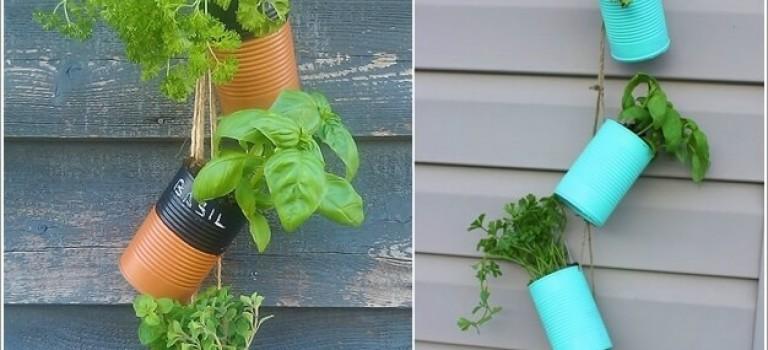 ۱۰ ایده ی جالب برای داشتن یک باغ معلق در خانه