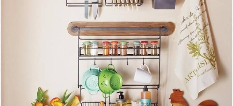 ایده هایی برای حل مشکل فضا در آشپزخانه کوچک شما: استفاده از دیوار