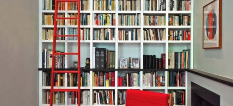 ایده طراحی قفسه های کتابخانه در دکوراسیون داخلی منزل