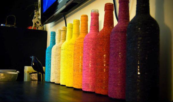 روشهایی خلاقانه برای استفاده از بطری های خالی