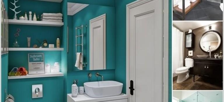 ۱۵ ایده برای رنگ سرویس بهداشتی شما