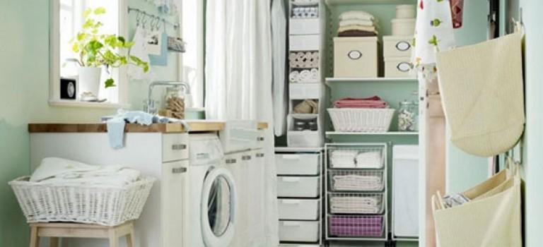 طراحی و دکوراسیون داخلی اتاق ماشین لباسشویی