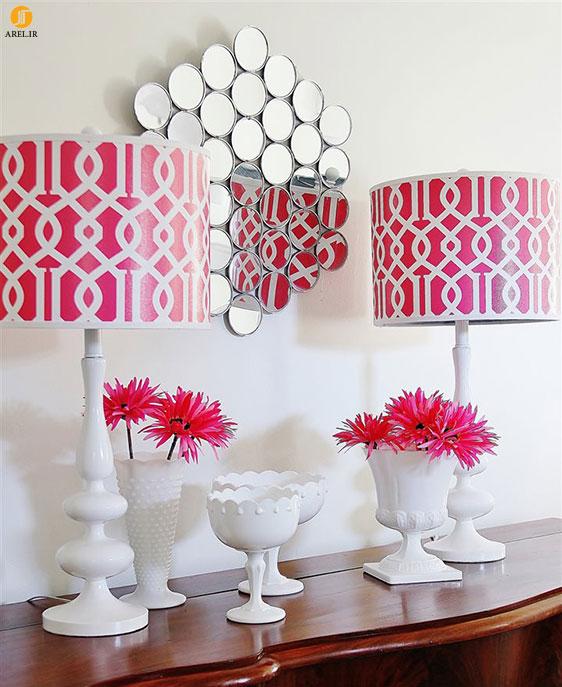 استفاده از آینه در دکوراسیون داخلی منزل : 10 ایده