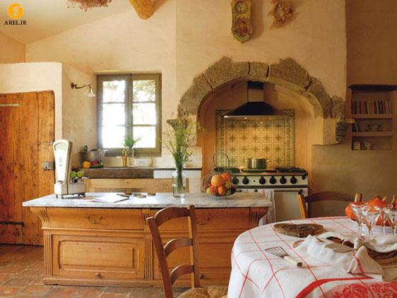 طراحی و دکوراسیون داخلی 30 آشپزخانه به سبک فرانسوی