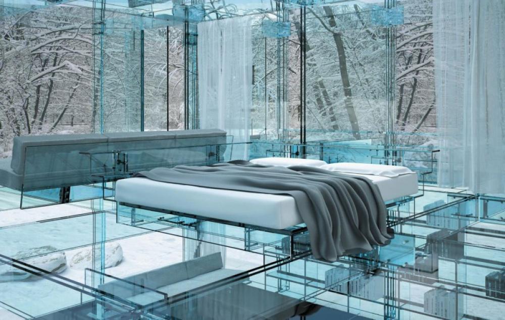 معرفی چند ایده ی عجیب اما زیبا برای دکوراسیون داخلی اتاق خواب