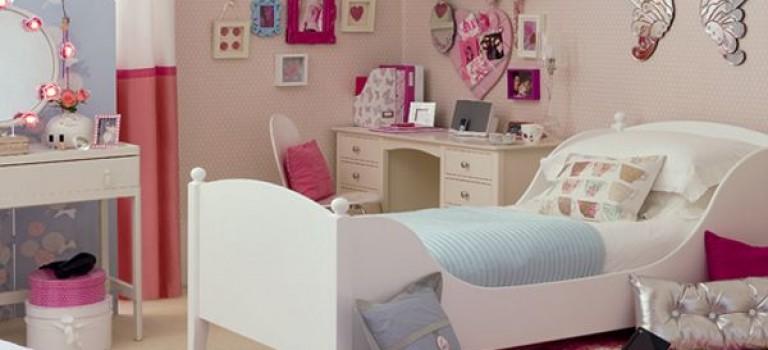 ۴۰ نمونه دکوراسیون داخلی اتاق دخترانه