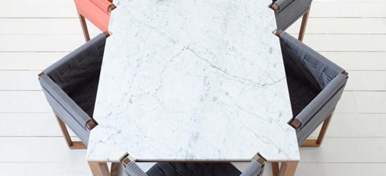 ایده ای خلاقانه برای میز و صندلی ناهارخوری