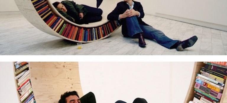 ۲۰ ایده ی خلاقانه برای طراحی قفسه ی کتاب