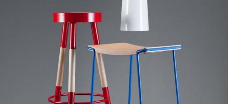 ترکیب خلاقانه ی چوب و فلز در طراحی مبلمان