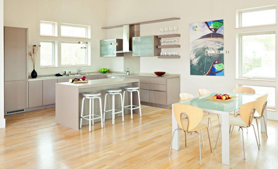 ایده هایی برای کاربرد سطوح فولادی در دکوراسیون داخلی آشپزخانه