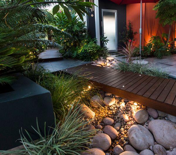 32 Backyard Rock Garden Ideas: استفاده از سنگ برای محوطه سازی حیاط و باغ