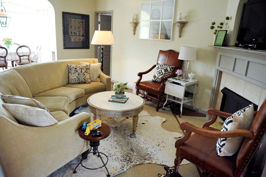 بهترین مکان برای قرار گرفتن کاناپه ی منحنی در دکوراسیون داخلی خانه کجاست؟