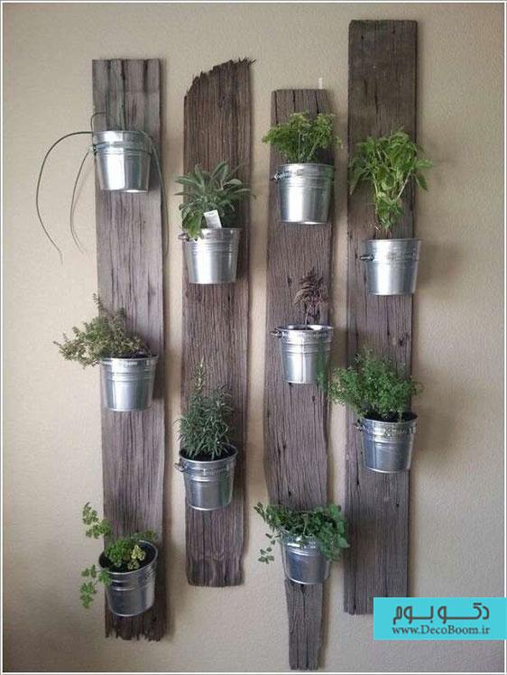 15 راه برای نمایش گیاهان در دکوراسیون داخلی خانه