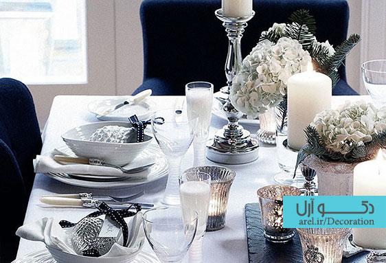 میز ناهار خوری خود را دکوراسیون و طراحی  کنید