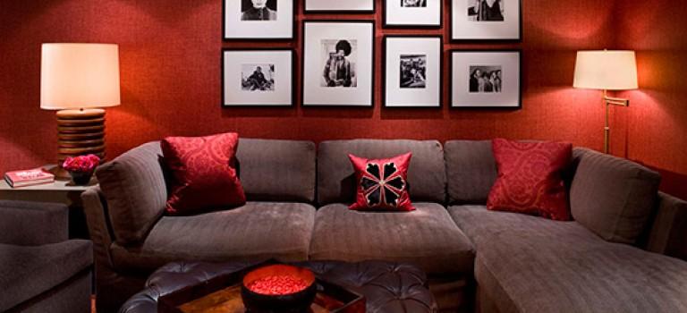 طراحی دیوارهای ساده و خالی در دکوراسیون داخلی منزل