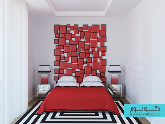 طراحی و دکوراسیون تاج تخت خواب (قسمت دوم)