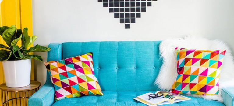 دکوراسیون داخلی خانه تان را با رنگ ها جادو کنید!!