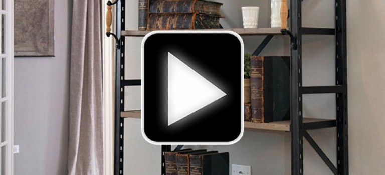 ویدیو ساخت قفسه ی کتاب دست ساز