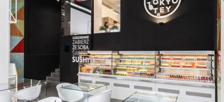 طراحی داخلی رستوران ژاپنی در لهستان