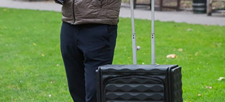 تکنولوژی هفته: طراحی چمدان های کم جا+ ویدیو