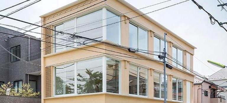 طراحی داخلی رستوران در توکیو توسط معمار مشهور، شیگروبان