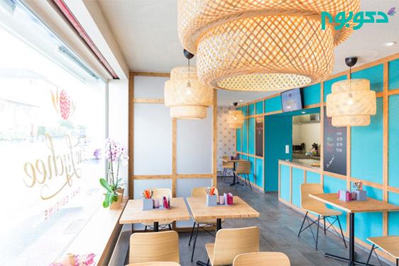 طراحی داخلی رستوران تایلندی