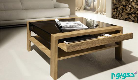 میزهای پذیرایی چوبی