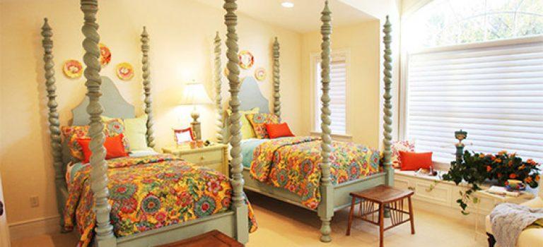 ۲۰ نمونه تخت خواب زیبا برای اتاق دوقلو ها