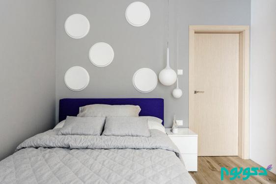 تخت خواب آبی
