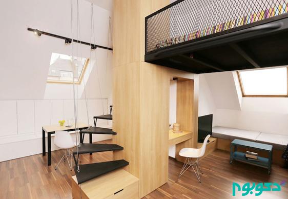 خلاقیت در دکوراسیون داخلی آپارتمان با محدودیت متراژ (قسمت هفدهم)