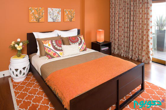 kimball-starr-interior-design_orange-contemporary-bedroom