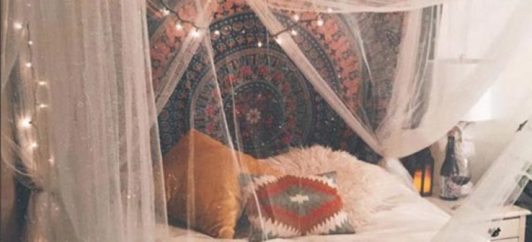 اتاق خواب های دوست داشتنی به سبک کولی وار (Bohemian)
