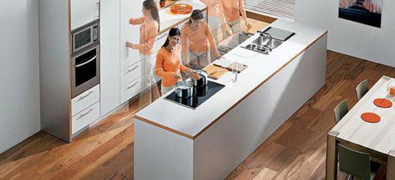 آشپزخانه ارگونومیک !