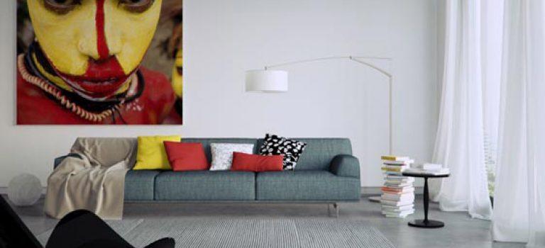تابلوهای بزرگ دیواری، ایده ای دوست داشتنی برای دکوراسیون منزل