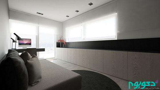 black-white-and-wood-home-office-theme