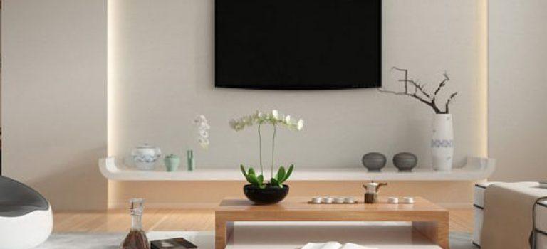 دکوراسیون داخلی آپارتمانی زیبا به سبک چینی