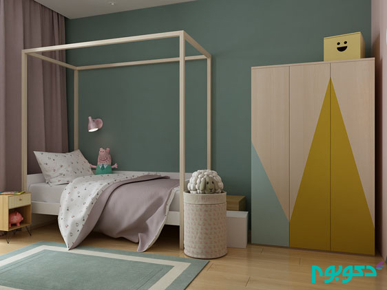 pink-blue-and-yellow-girls-room